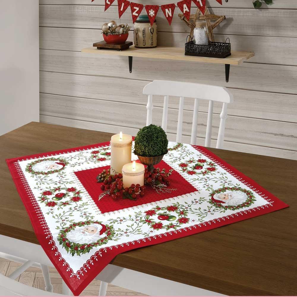 toalha de mesa 78x78 natal91
