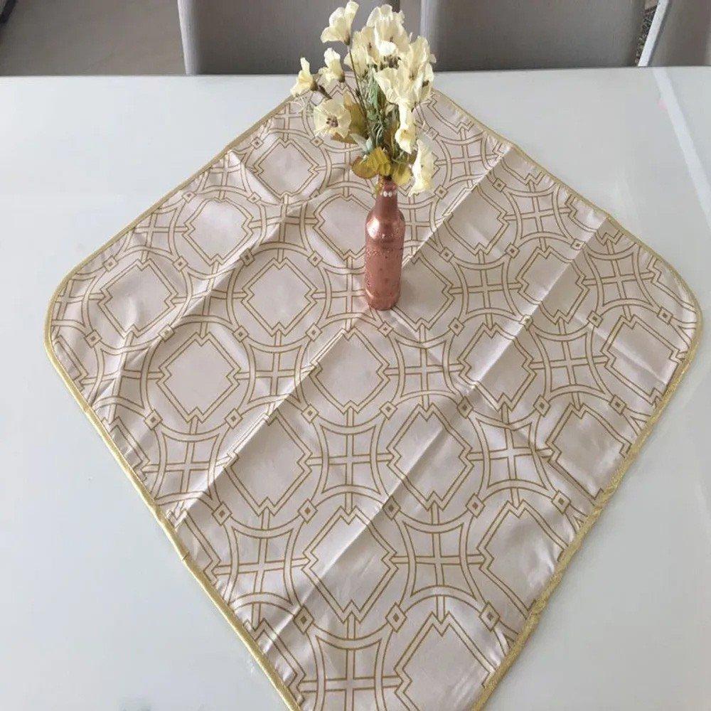 toalha de mesa quadrada karsten esplendor de natal