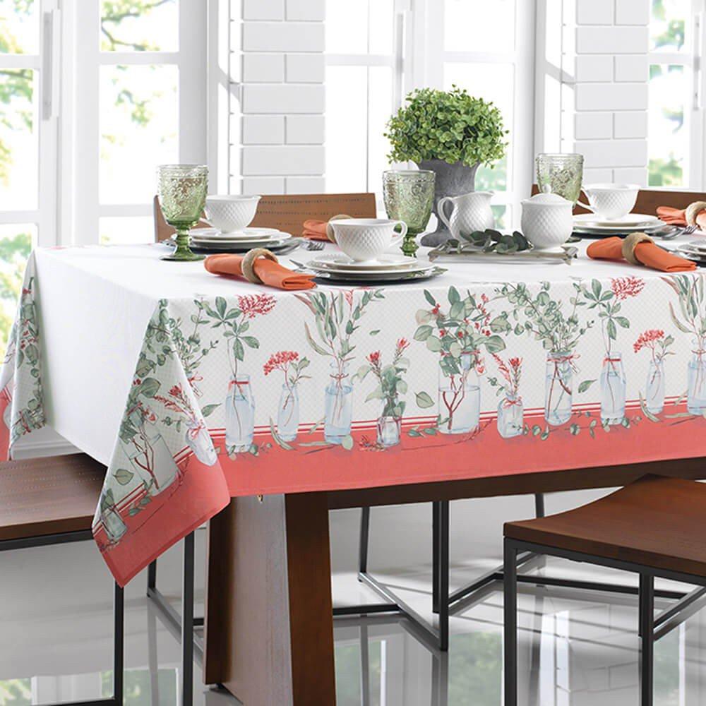 toalha de mesa eucalipto