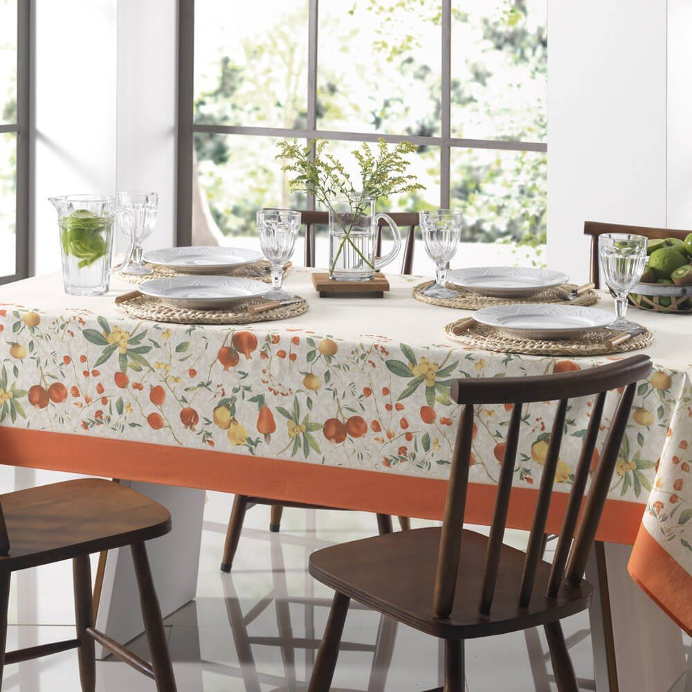 toalha de mesa floralice
