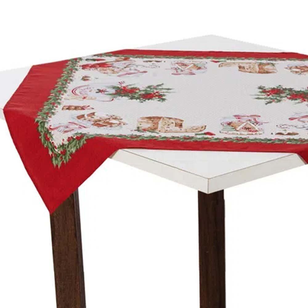 toalha de mesa 78x78 segredos de natal zoom