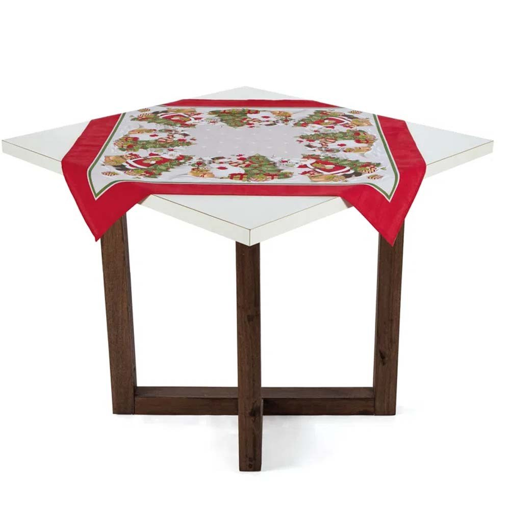toalha de mesa 78x78 vila de natal