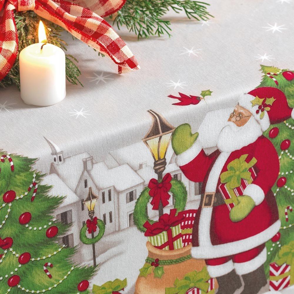 toalha de mesa vila de natal zoom