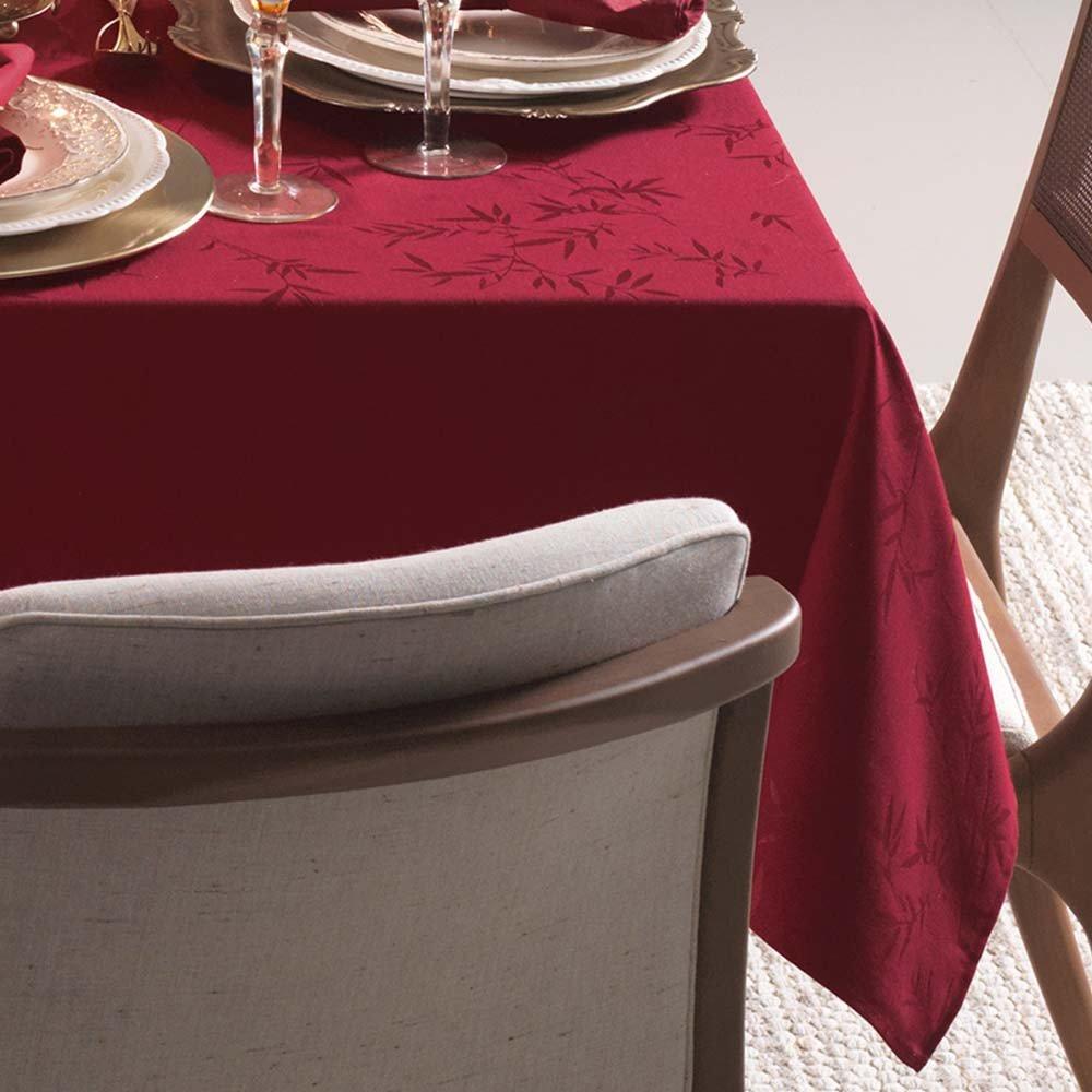 toalha de mesa karsten quadrada 8 lugares verissimo vermelho zoom 1