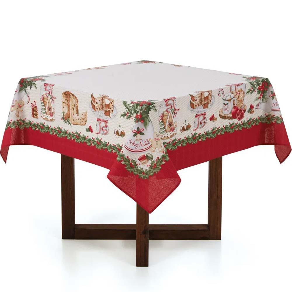 toalha de mesa quadrada segredos