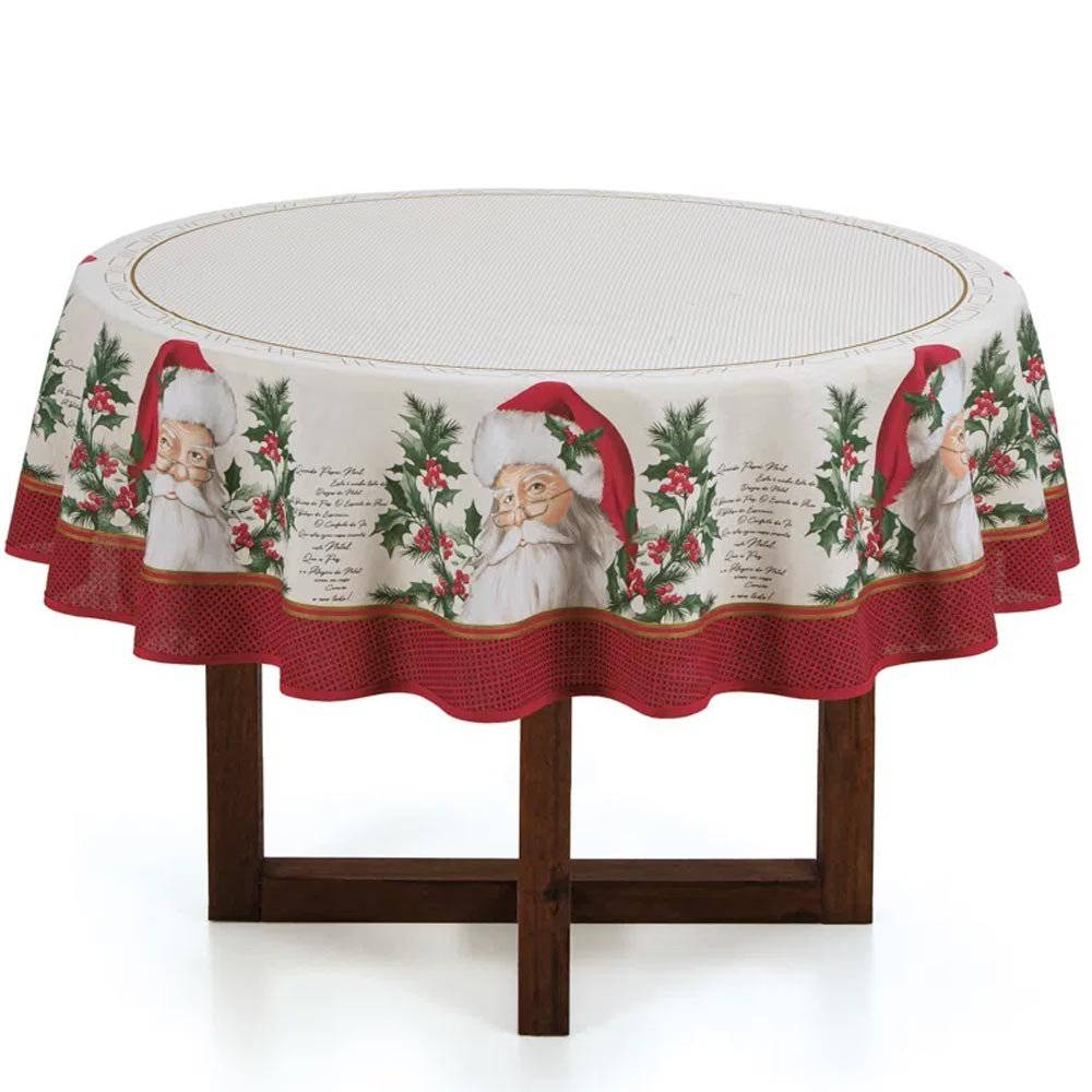 toalha de mesa redonda sao nicolau