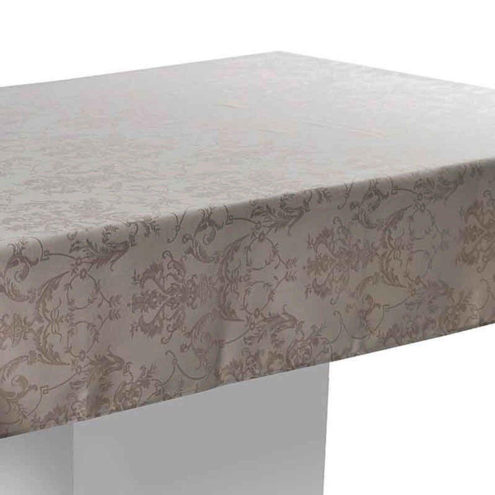 toalha de mesa blanche bege