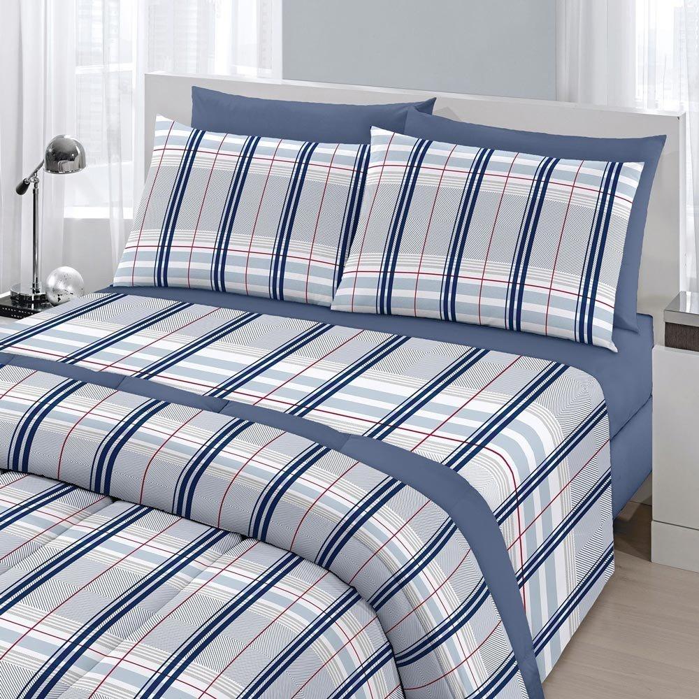 jogo de cama madras