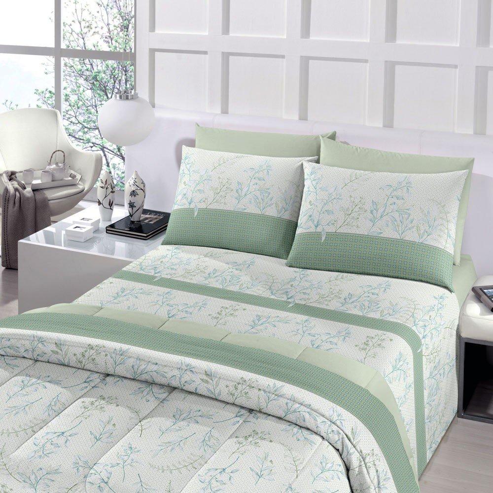 jogo de cama flora