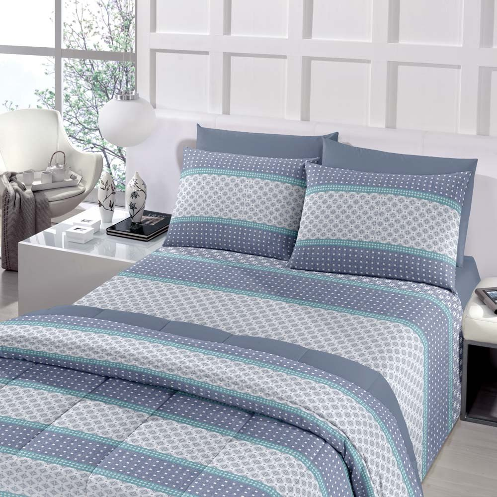 jogo de cama berlin azul