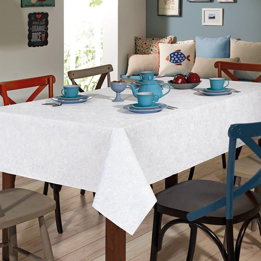 toalha de mesa dohlerclean retrangular edite