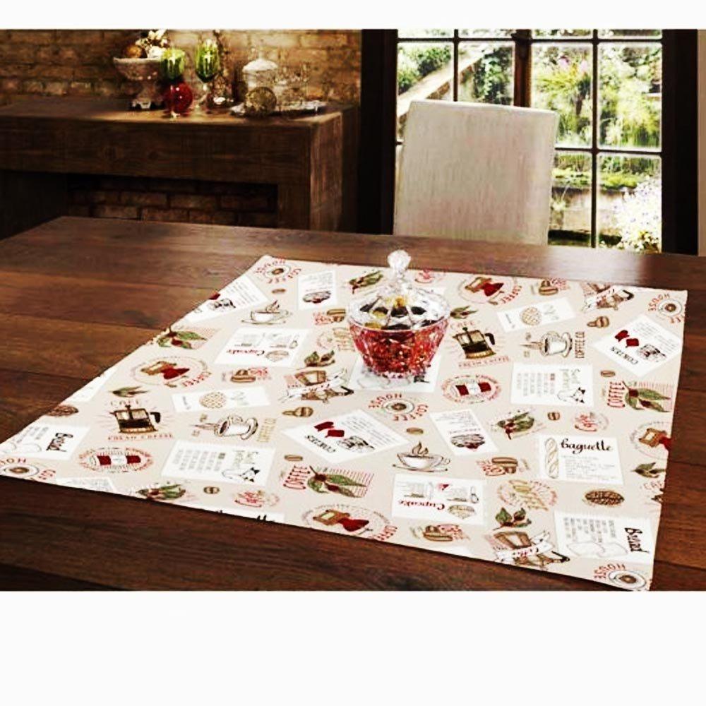 toalha de mesa 78x78 emma