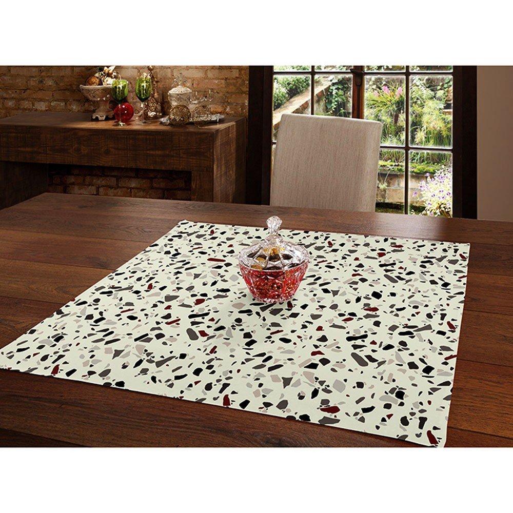 toalha de mesa 78x78 evelyn