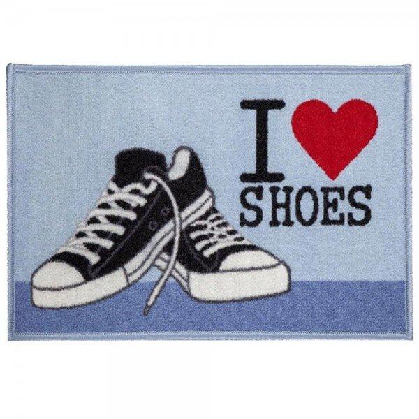 tapete de entrada love shoes