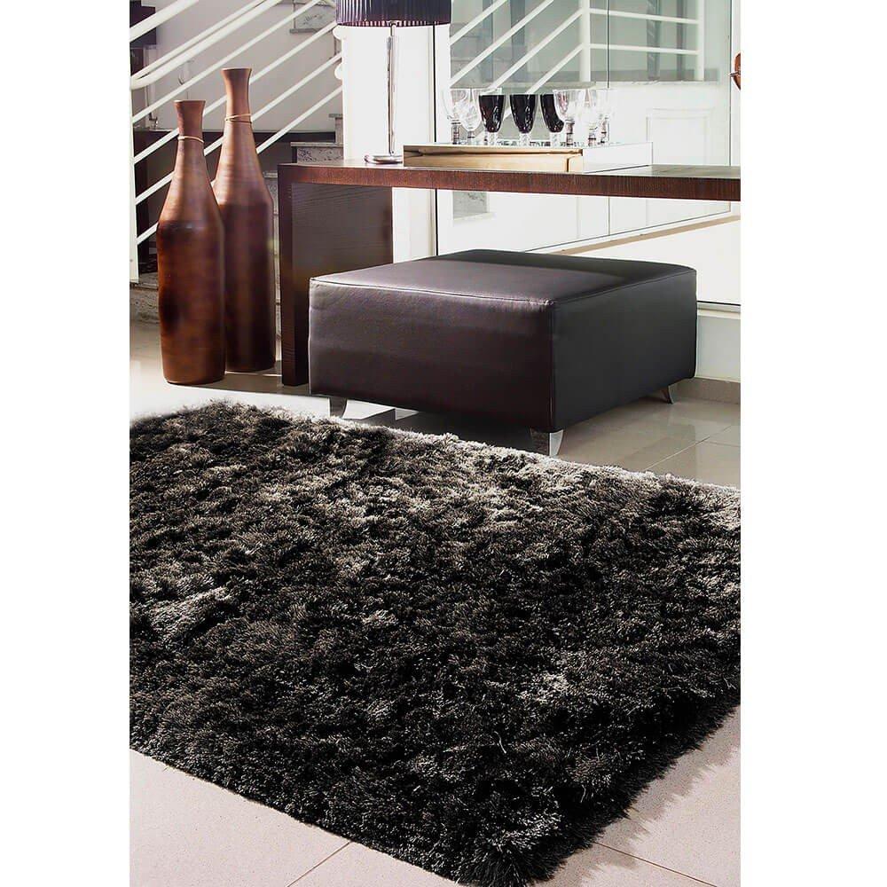 tapete de quarto agra preto