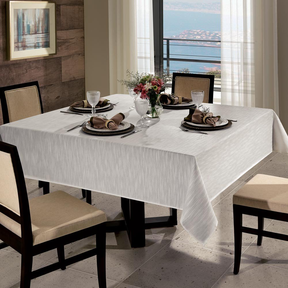 toalha de mesa passion pre alvejado