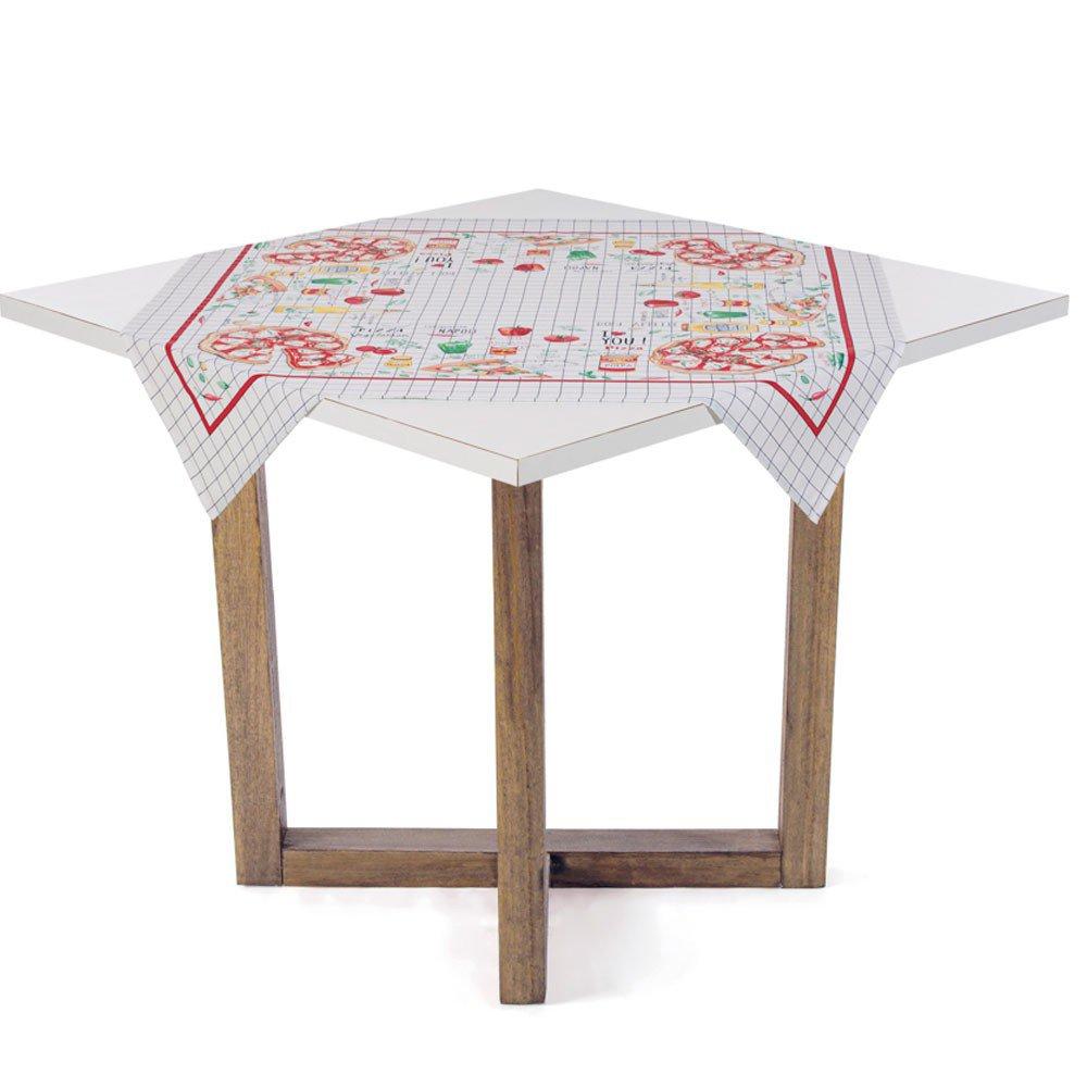 toalha de mesa pizzaria 78x78