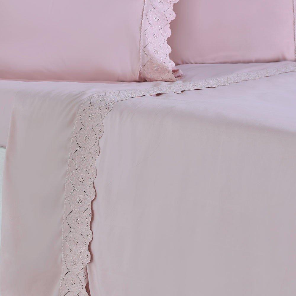 jogo de cama microfibra benecasa blush3