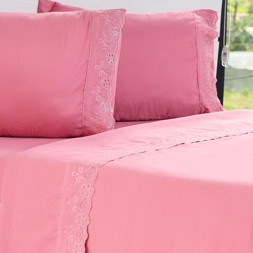 jogo de cama microfibra benecasa mauve1
