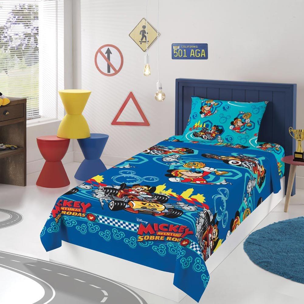 jogo de cama mickey