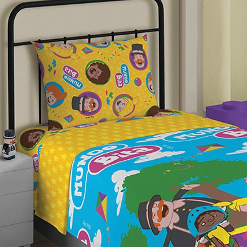 jogo de cama mundo bita1
