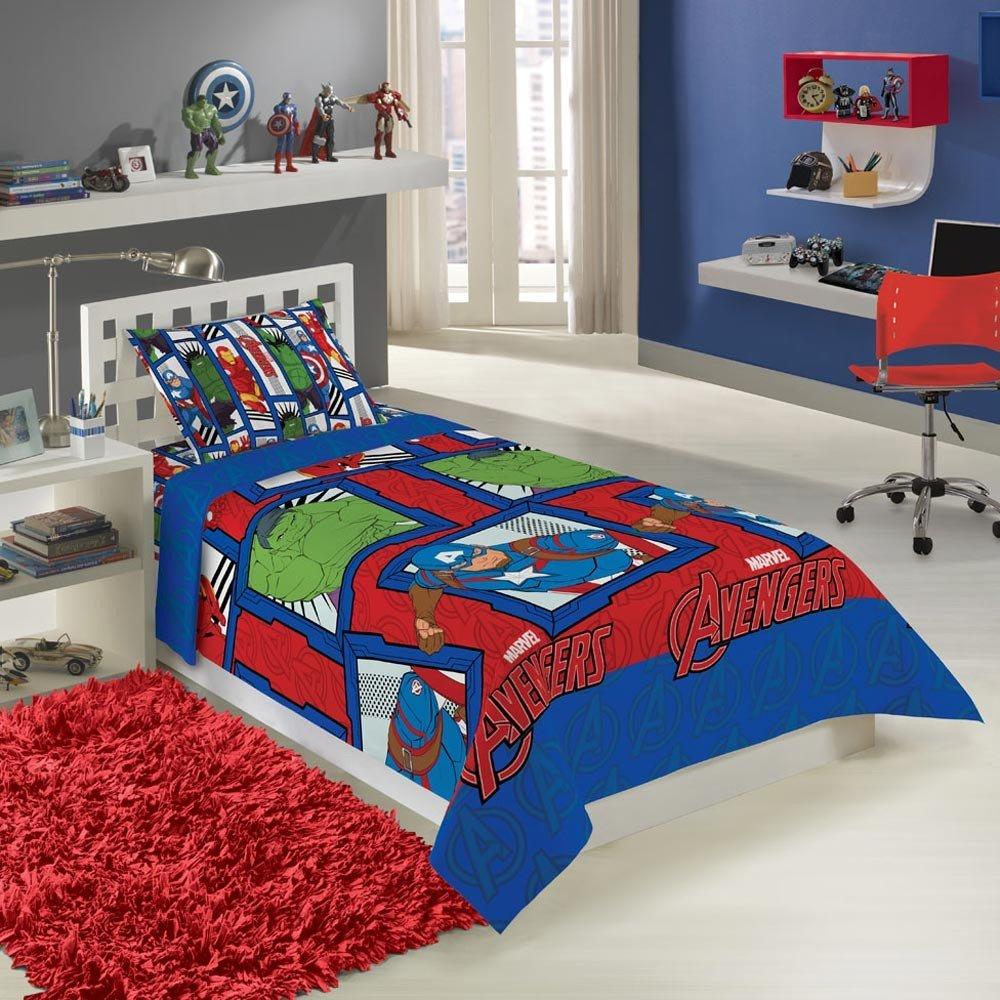 jogo de cama avengers