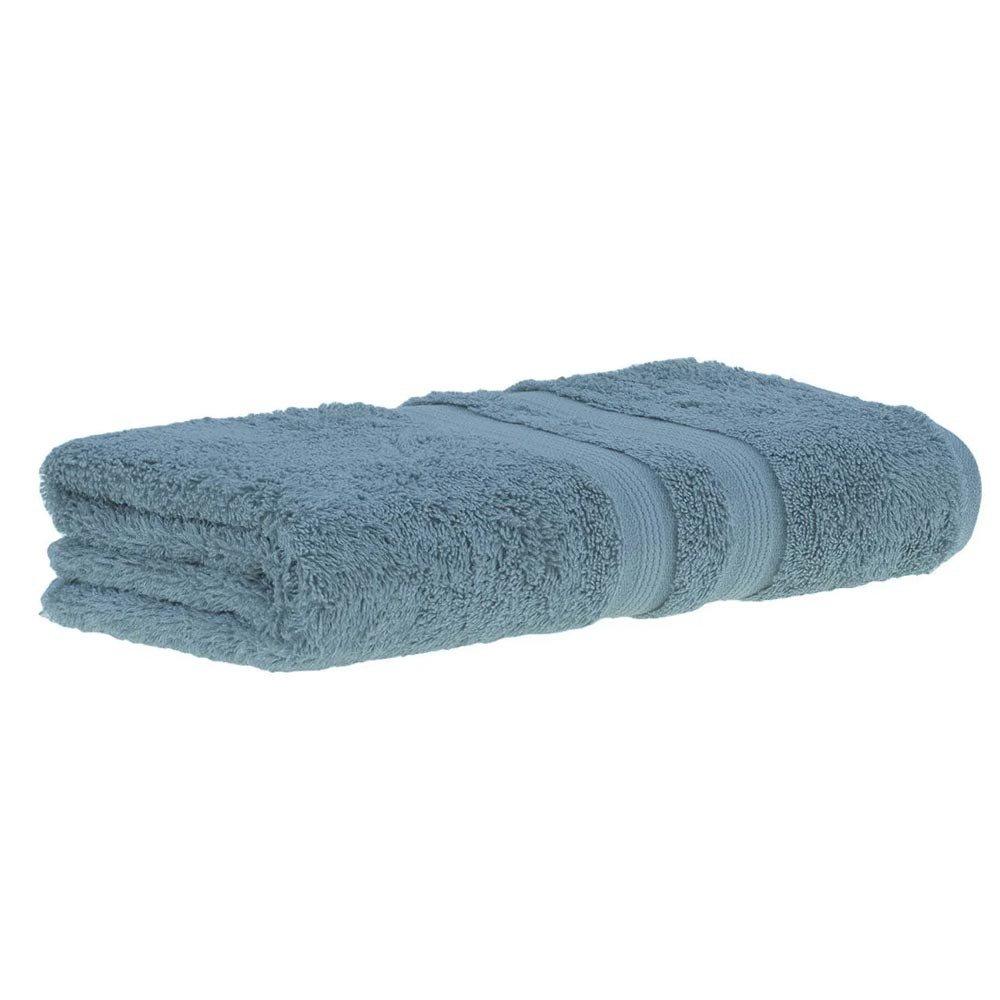 toalha algodao egcipio azul