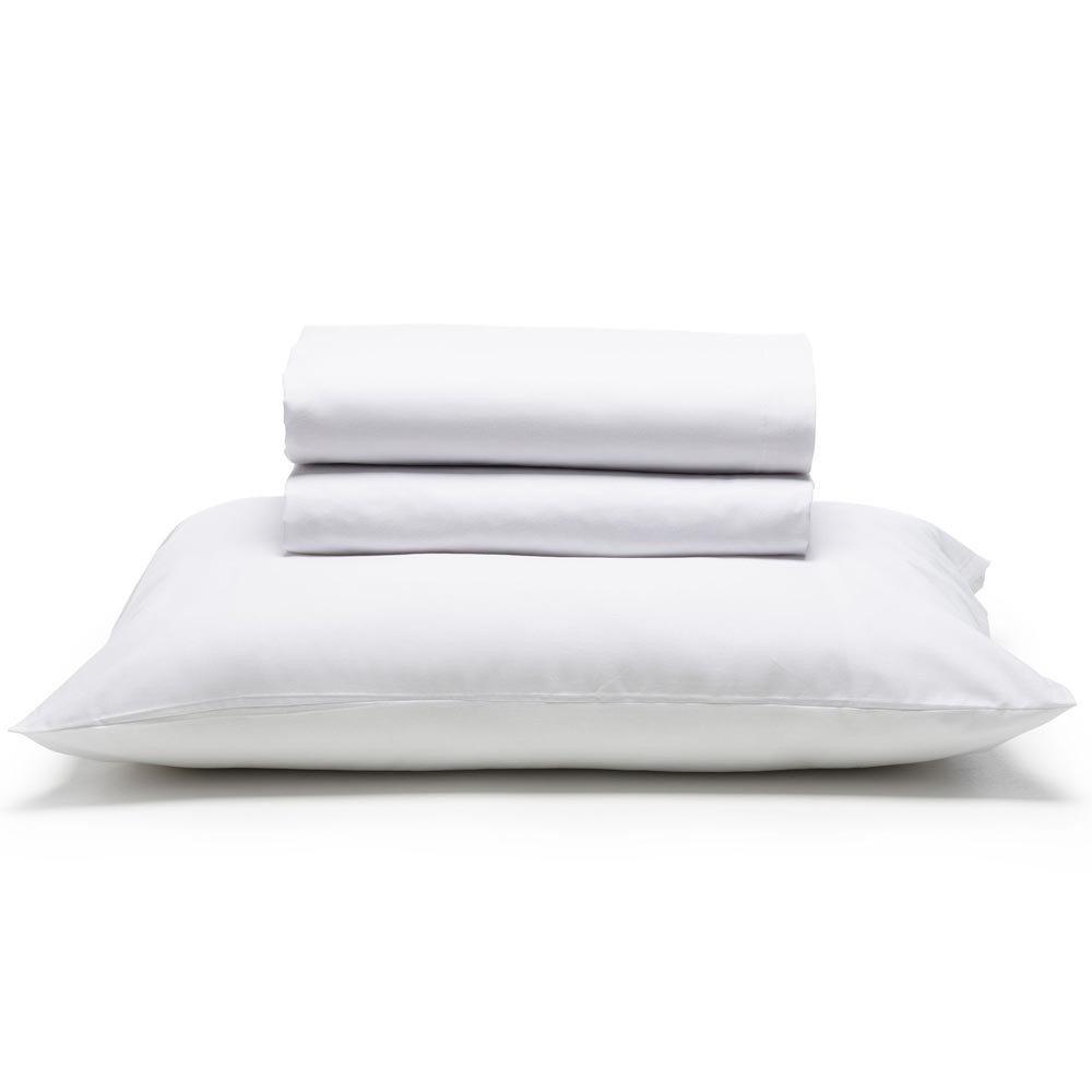jogo de cama branco