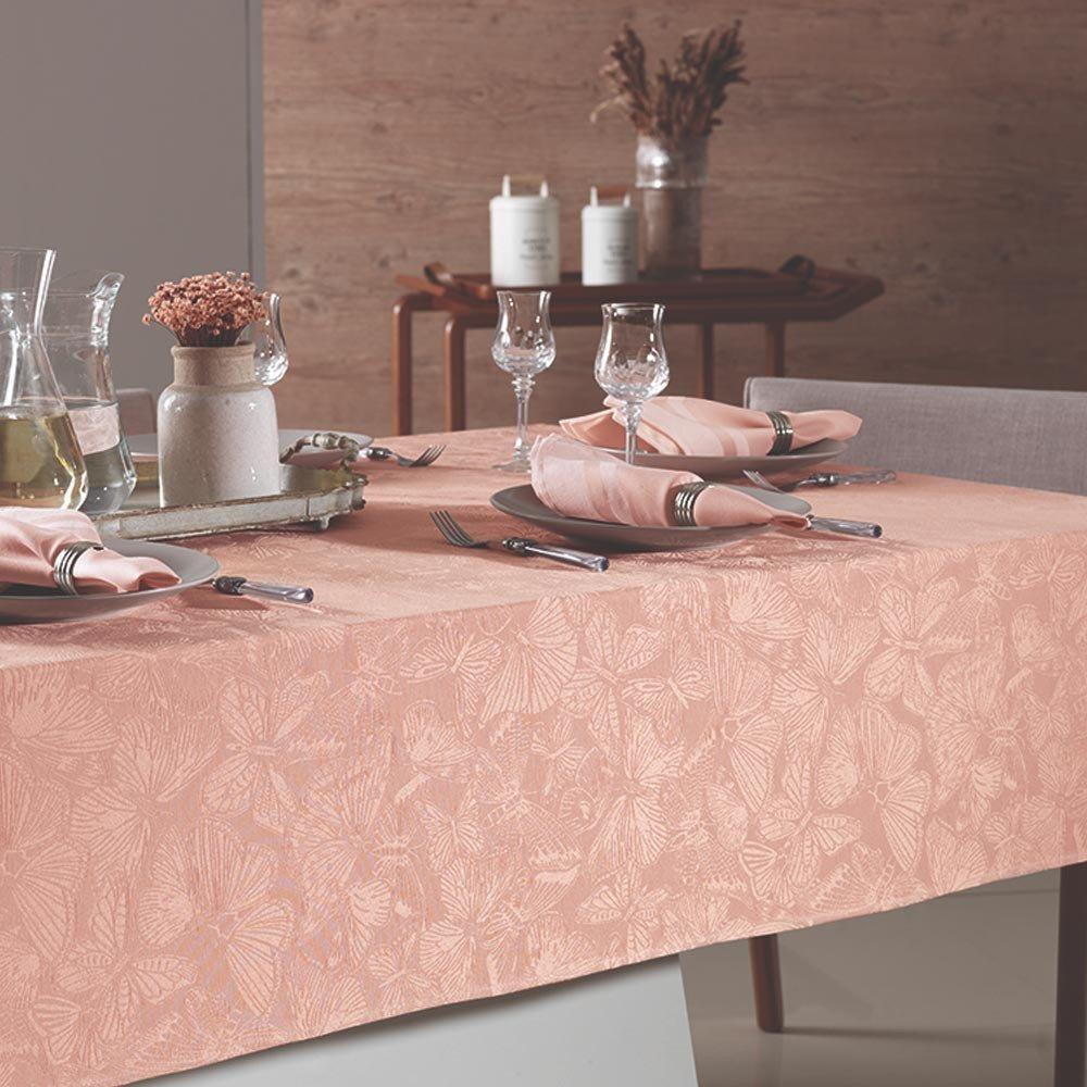 toalha de mesa arbela rosa