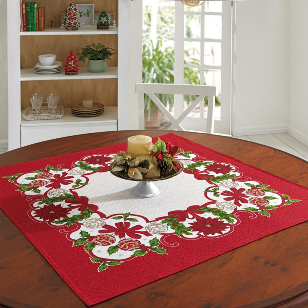 toalha de mesa 78x78 natal79