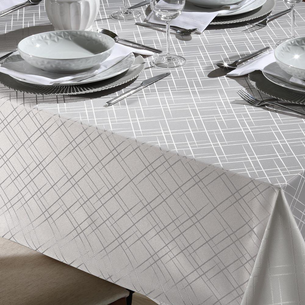 toalha de mesa tj 5795 retangular prata1