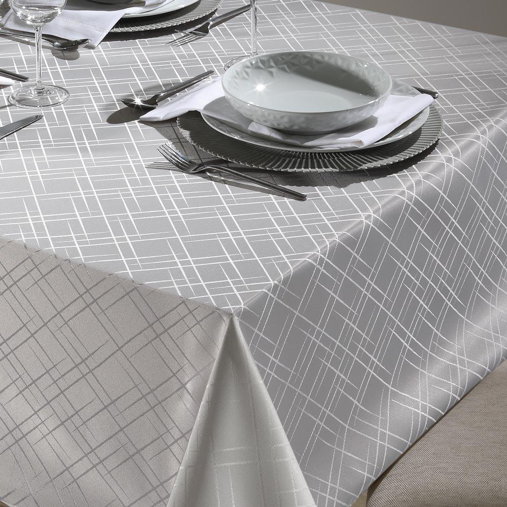 toalha de mesa tj 5795 retangular prata2