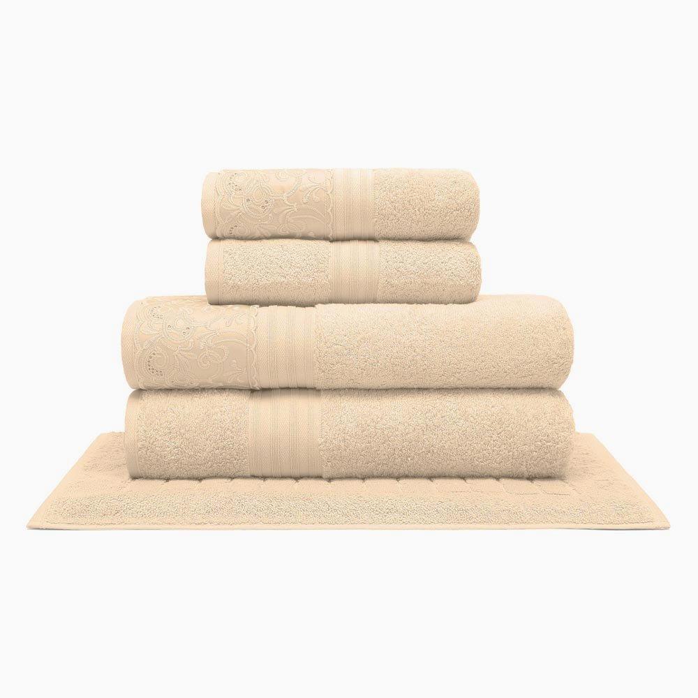 toalha clarys perola 5pcs