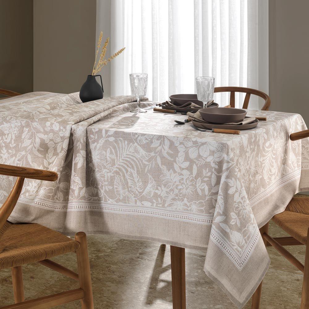toalha de mesa retangular alana