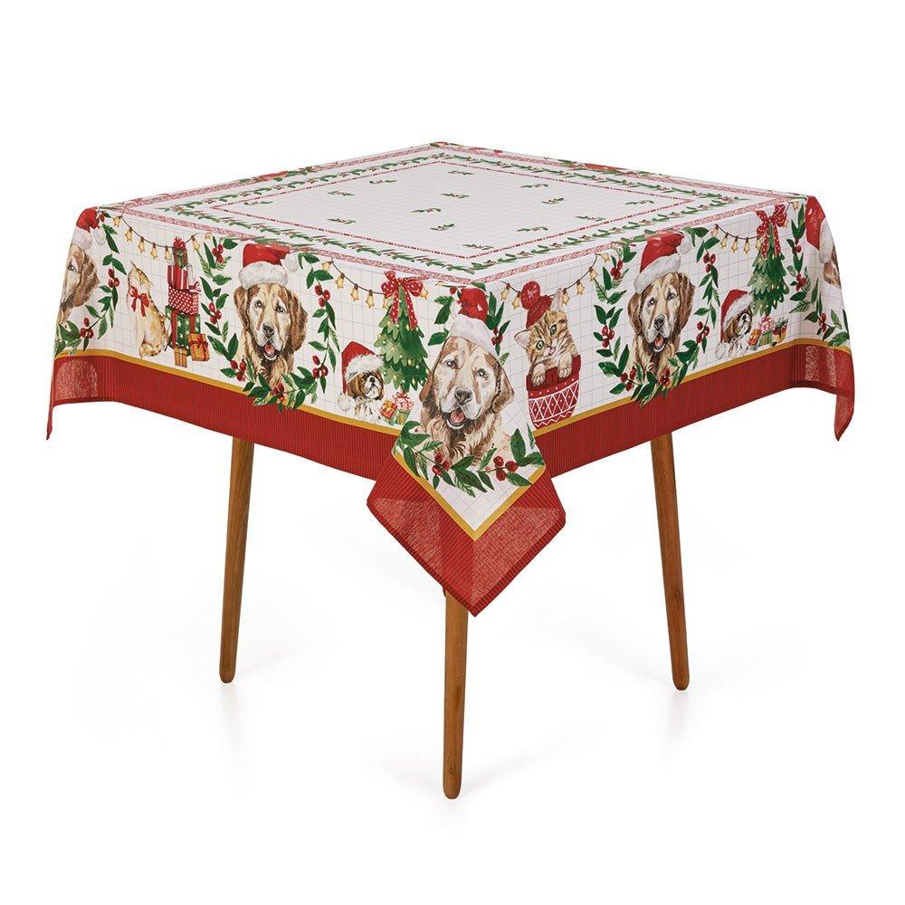 mesa natal pet natalino quadrada