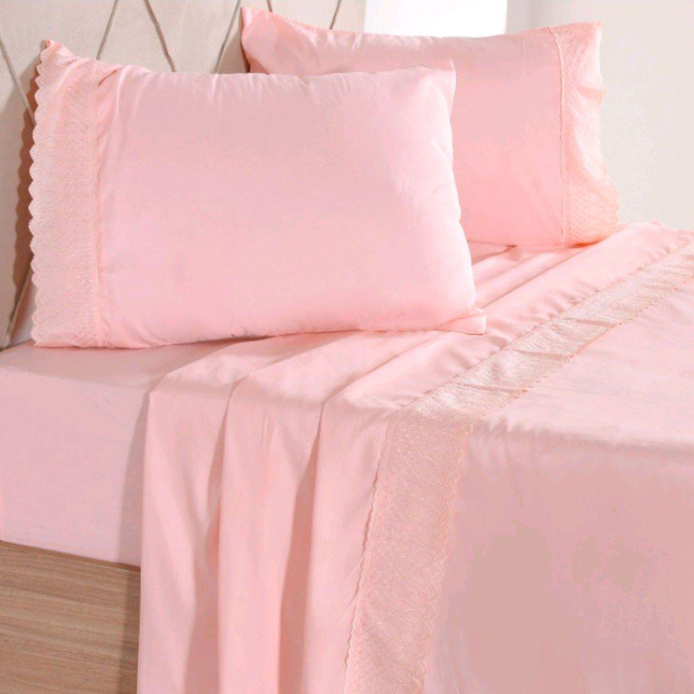 jogo de cama maximus rosa