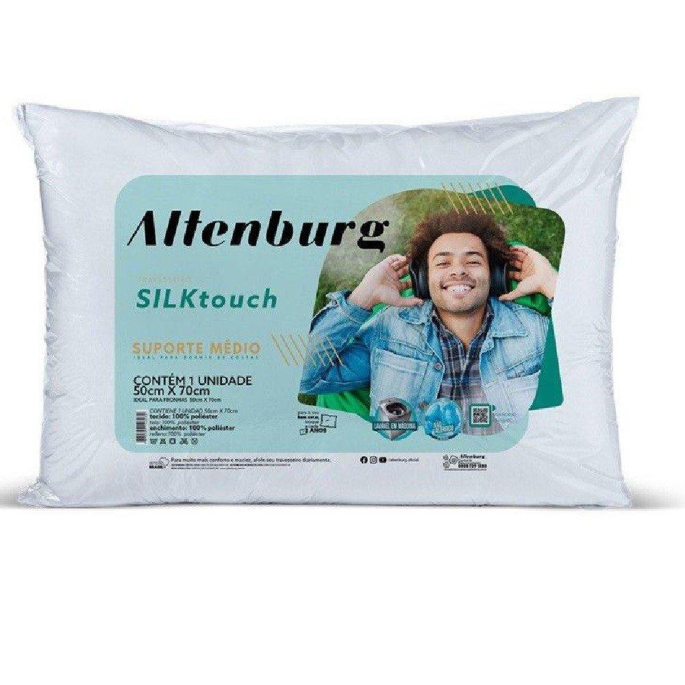 travesseiro silk touch